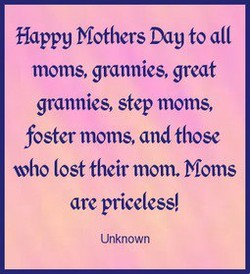 Happy Mothers Day to 