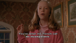 You're v.' hat the French call 