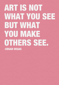 ART IS NOT 