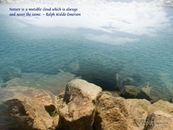 Nature is mutable cloud which is always 