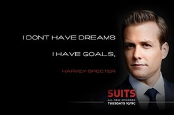 I DONT HAVE DREAMS 