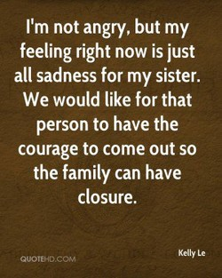 I'm not angry, but my 