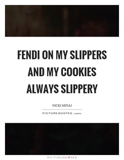FENDI ON MY SLIPPERS 