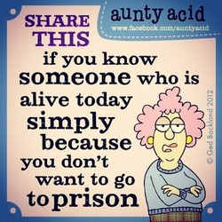 SHARE aunty acid 