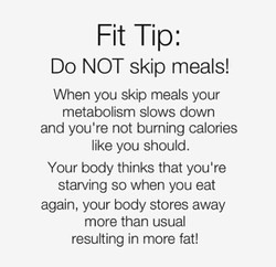 Fit Tip: 