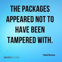 THE PACKAGES 