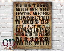wnø WE'RE' JUST HUMAN BEINGS WITH SUPPOSED w1TH