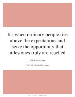 It's when ordinary people rise 