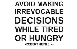 AVOID MAKING 