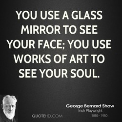 YOU USE A GLASS 