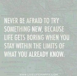 NEVER BE TO TRY 