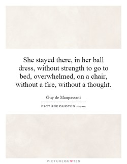 She stayed there, in her ball 