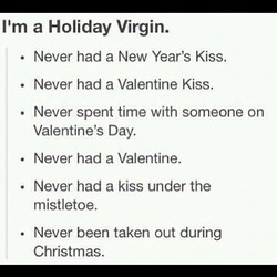 11m a Holiday Virgin. 