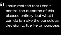 I have realized that I can't 