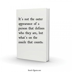 It's not the outer 
