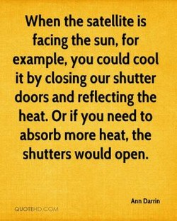 When the satellite is 