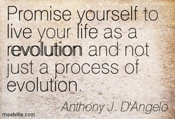 Promise yourself to 