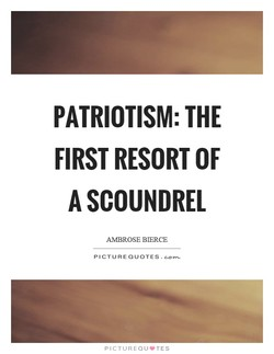 PATRIOTISM: THE 