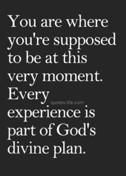 You are where 