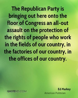 The Republican Party is 
