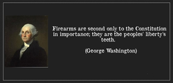 Firearms are second only to the Constitution 