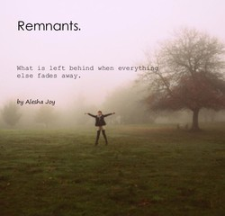Remnants. 