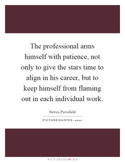 The professional arms 