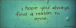 i hope you' always 