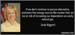 If we don't continue to pursue alternative, 