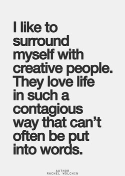 I like to 