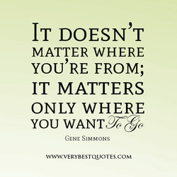 IT DOESN'T 