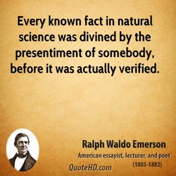 Every known fact in natural 