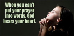 When you cant 
