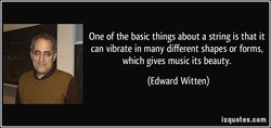 One of the basic things about a string is that it 
