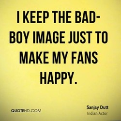 I KEEP THE BAD- 