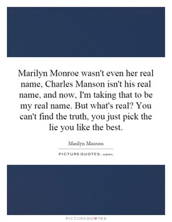 Marilyn Monroe wasn't even her real 