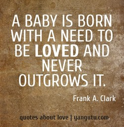 A BABY IS BORN 