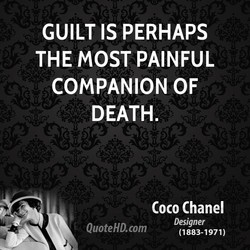 GUILT IS PERHAPS 
