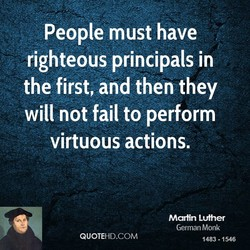 People must have 