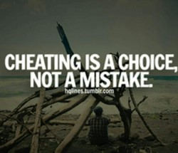 CHEATING ISA CHOICE 
