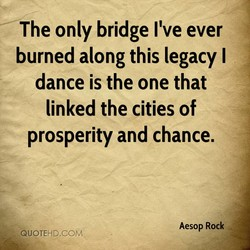 The only bridge I've ever 
