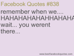 Facebook Quotes #838 