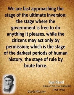 We are fast approaching the 