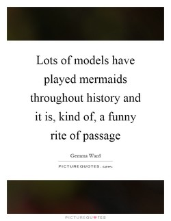 Lots of models have 