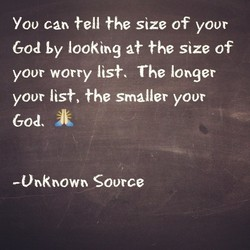 You can tell the size of your 