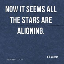 NOW IT SEEMS ALL 