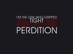 I'M THE ONE WHO GRIPPED 