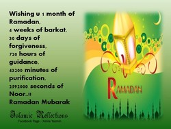 Wishing u 1 month of 