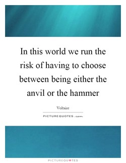 In this world we run the 