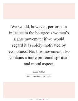 We would, however, perform an 
